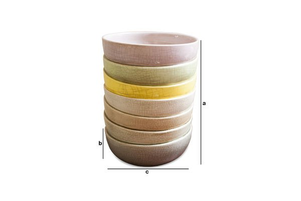 Dimensions du produit Vase Amalia