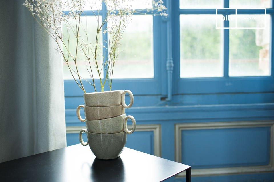 Style romantique et ludique pour vos fleurs