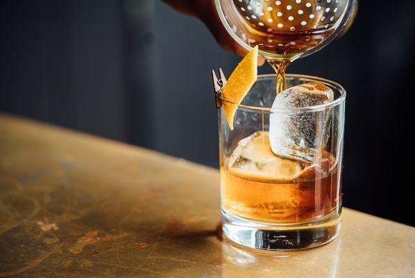 Vase de whisky