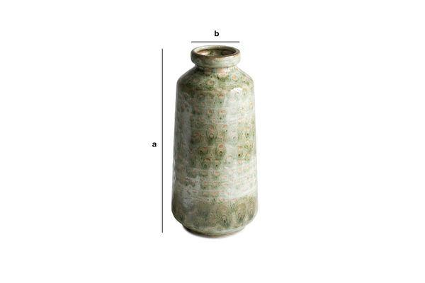 Dimensions du produit Vase en céramique Eva