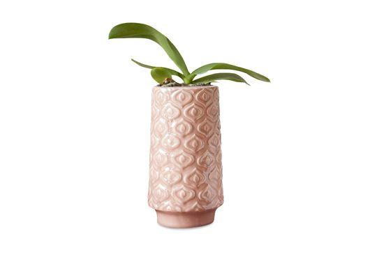 Vase en céramique rose Aurore Détouré