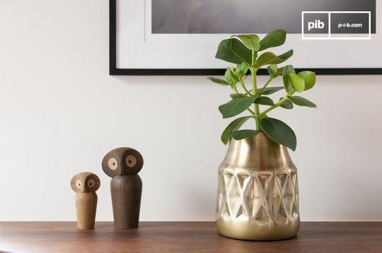 Vase en laiton Layti