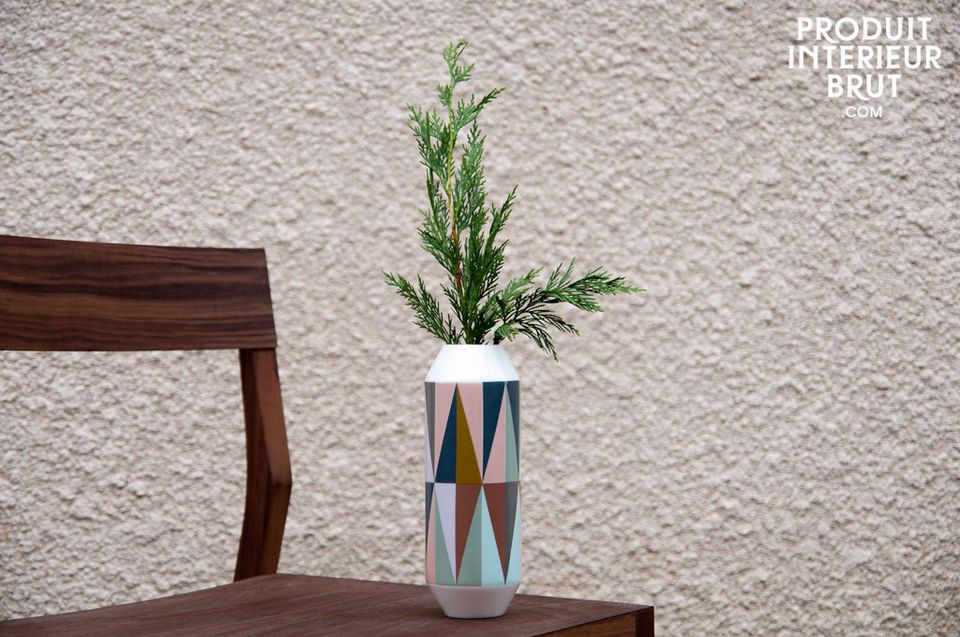 Vase en porcelaine Remix
