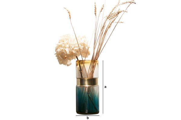 Dimensions du produit Vase en verre Brassbelt