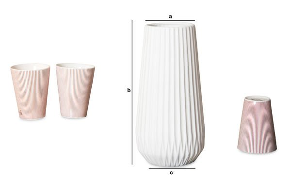 Dimensions du produit Vase Kamila