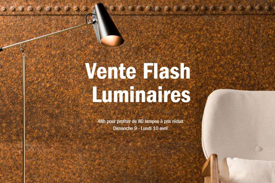 Vente Flash luminaires