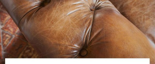 Zoom sur le cuir