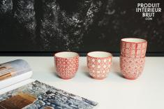 Chehoma : 4 tasses à café Kennedy