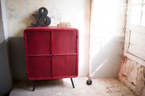 Chehoma : Armoire Minoterie rouge
