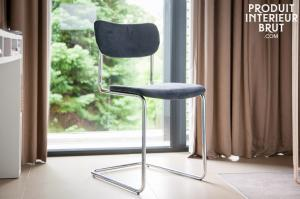 Chaise Back in Norway Grise