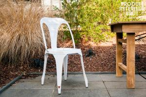 Chaise Multipl's blanche