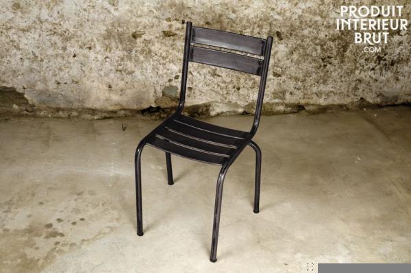 la chaise design tendance issue du mobilier industriel. Black Bedroom Furniture Sets. Home Design Ideas