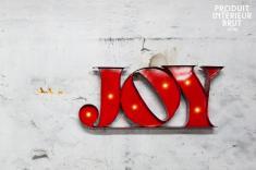 Athezza : Enseigne lumineuse Joy