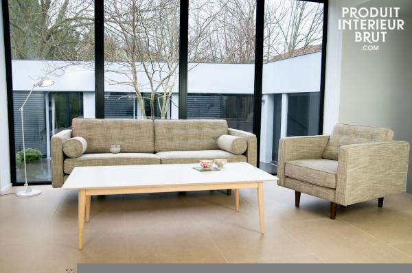 Le meuble scandinave est le meuble design par excellence - Canape design nordique ...