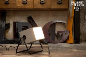Lampe Concrete Box