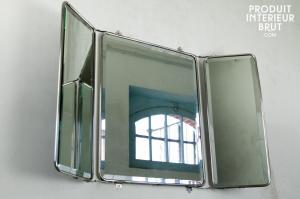 miroir style loft industriel