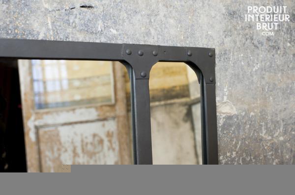 faire un miroir style industriel