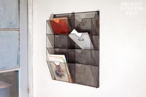 Chehoma : Porte-documents mural grillagé