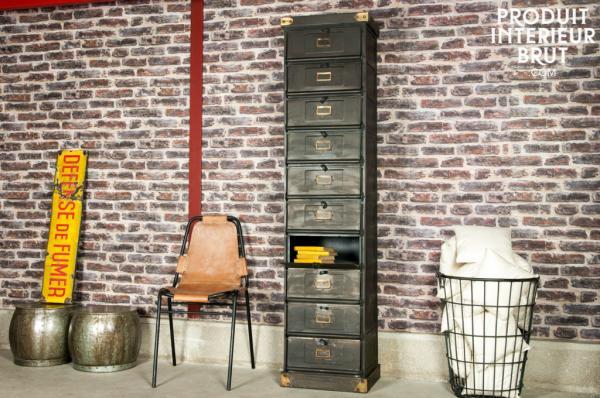 Meubles industriels la popularisation des meubles for Semainier industriel