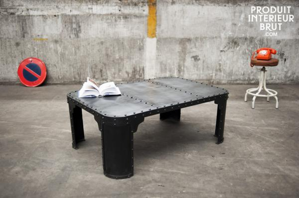 Meuble industriel l 39 apog e du meuble style loft for L or du temps meuble industriel