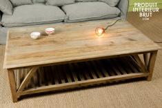 Deco vintage meuble de style industriel pour votre int rieur produit int r - Table style campagne ...