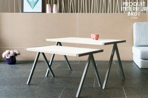 Pomax : Table basse gigogne Arlanda