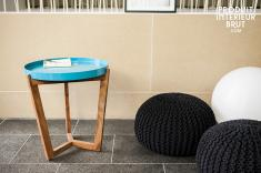 Table Stockholm turquoise
